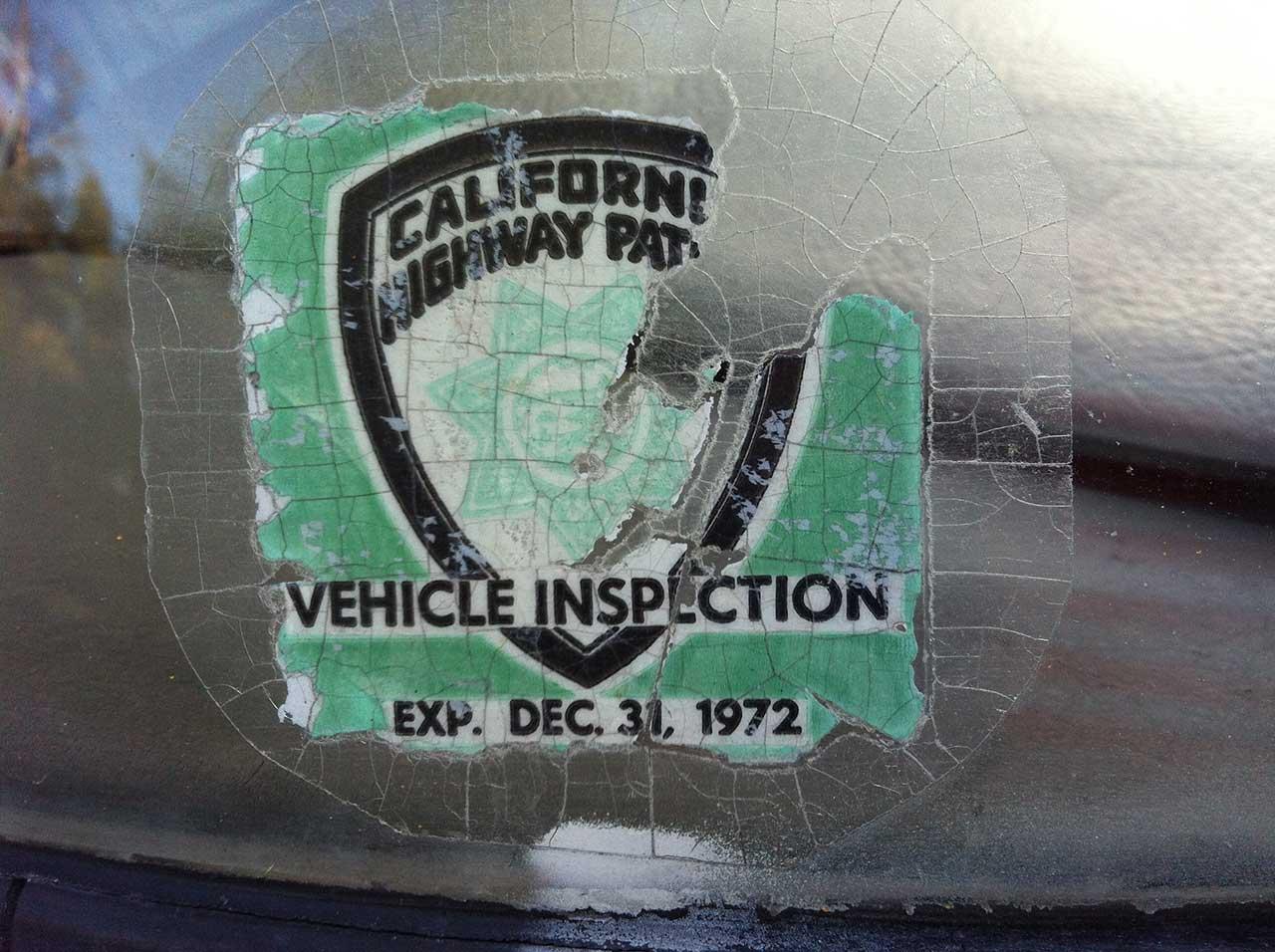 Cad Inspectionsticker